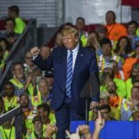 Lavoratori della Shell costretti a partecipare a un comizio di Trump per essere pagati