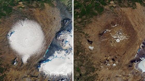 """Clima, l'Islanda celebra il ghiacciaio scomparso. """"In 200 anni anche gli altri faranno la stessa fine"""""""