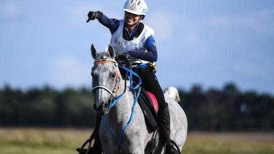 Equitazione, europei Endurance: storica vittoria di Costanza Laliscia
