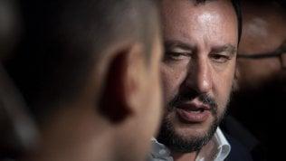 """Salvini: """"Non lascerò il Viminale. Non so cosa dirà Conte martedì, ma lo ascolterò senza pregiudizi"""""""