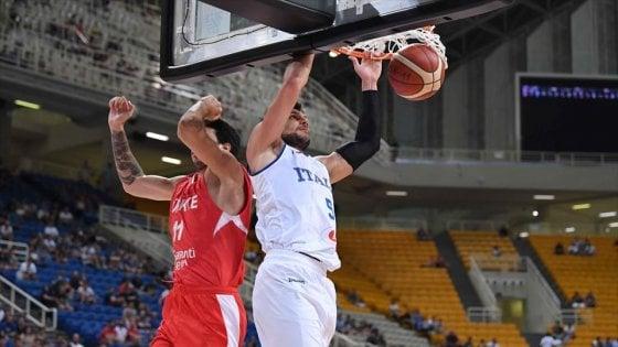 Basket, Torneo Acropolis: altra sconfitta per l'Italia, la Turchia rimonta nel finale