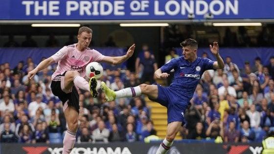 Inghilterra. il Chelsea non decolla: pari con Leicester