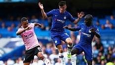 Inghilterra, il Chelsea non decolla: pari con Leicester