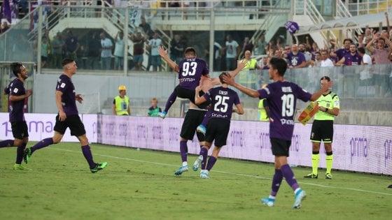 Coppa Italia: Fiorentina avanti col brivido, tris di Bologna e Sampdoria