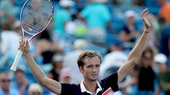 Tennis, Medvedev: il simbolo della Russia in ascesa