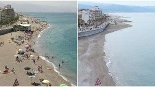 Fotoconfronto Sicilia, le spiagge scomparse: cinque chilometri in meno ogni anno