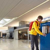 Aeroporto San Francisco: acqua in plastica addio