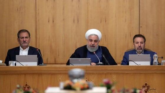 """Iran, Rouhani apre all'Italia: """"Nostre relazioni importanti"""""""