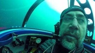 """Dal sottomarino all'Onu, Javier Bardem: """"Proteggiamo gli oceani"""""""