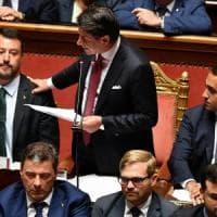 """Crisi di governo, le dimissioni di Conte: """"Il governo finisce qui, Salvini ha seguito..."""