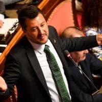 """Salvini prova a riaprire: """"Per riforma e manovra coraggiosa, ci siamo"""". E ritira mozione..."""