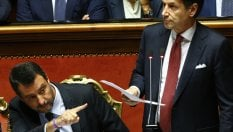 """""""Su Moscopoli avresti dovuto chiarire in Aula"""". Salvini indica applausi Pd"""