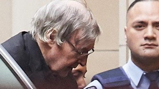 Pedofilia, respinto il ricorso in appello del cardinale Pell