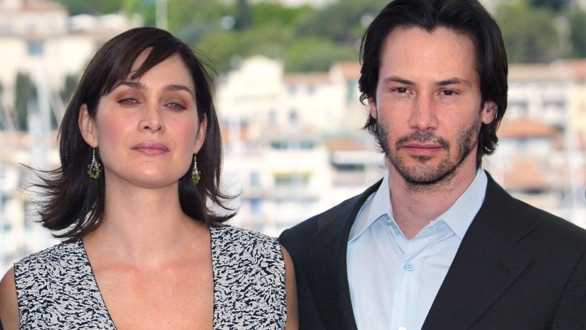 Lana Wachowski a lavoro su 'Matrix 4' con Keanu Reeves e Carrie-Ann Moss