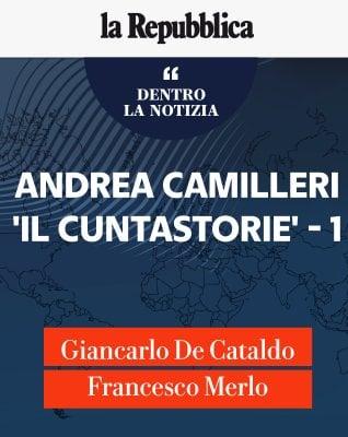 """De Cataldo e Merlo: """"Andrea Camilleri, Il cuntastorie"""""""