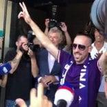 """Il giorno di Ribery: """"Sono felice, mi manda Luca Toni"""""""