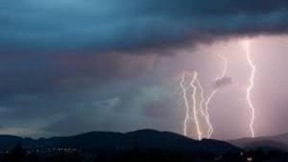 In arrivo i temporali, fine dell