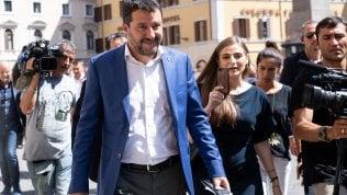 """Rep: Crisi, Salvini non s'arrende: """"Governo con M5s"""". E avvisa Berlusconi"""