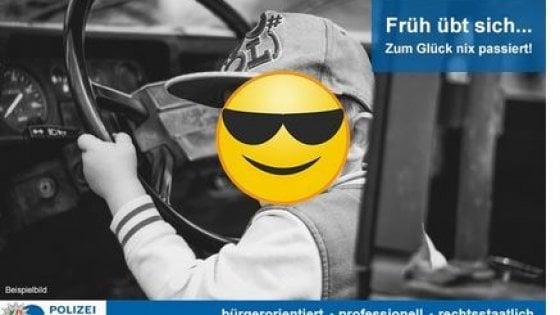 Germania, a otto anni guida in autostrada a 140 all'ora e nessuno lo ferma