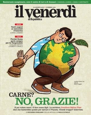 ll Venerdì Dieta, aerei e figli: come salvare il pianeta per Safran FoerRep: Un comunista a Manhattan