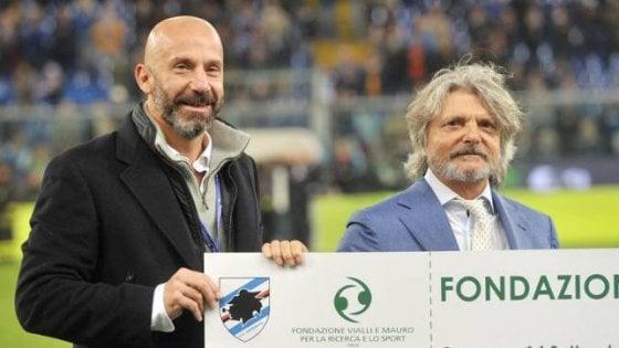 Sampdoria, cessione vicina: accordo d'intenti tra Ferrero e gruppo Vialli