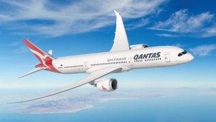 Il 787-9 che verrà usato nei voli sperimentali