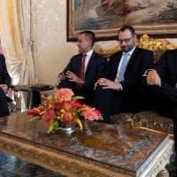 """Consultazioni, Di Maio allontana le urne: """"Pronti a dialogo su nuova maggioranza""""...."""
