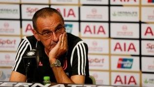 Sarri con la polmonite non sarà in panchina nemmeno per il big match Juve-Napoli