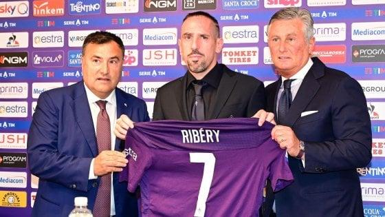 """Fiorentina, Ribery: """"Spero di essere un biglietto vincente. Aiuterò Chiesa a crescere"""""""