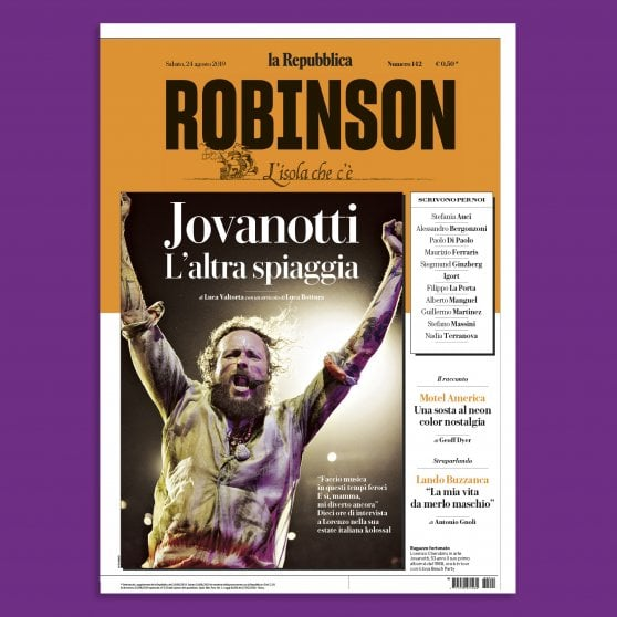 Su Robinson l'altra estate di Jovanotti