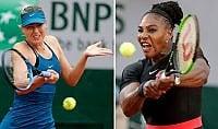 Djokovic-Federer in semi è subito Serena-Sharapova