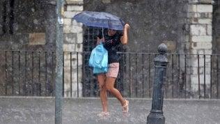 Allerta maltempo: piogge e temporali nel weekend su buona parte dell'Italia