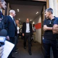 """Primo incontro M5S-Pd. Di Maio: """"Taglio dei parlamentari è obiettivo di legislatura""""...."""