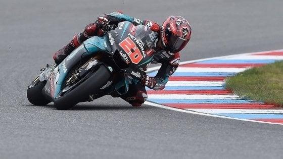 Moto Gp, Silverstone: il 'Var' salva Quartararo, record della pista