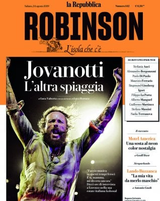 Robinson L'altra estate di Jovanotti: intervista esclusiva