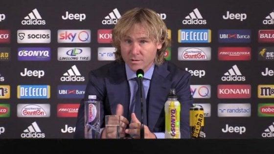 """Juventus, la parola a Nedved: """"Siamo al top anche in Europa, proveremo a vincere tutto"""""""""""