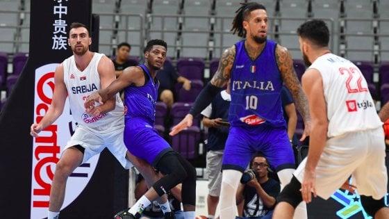 """Basket, Italia: altro ko con la Serbia. Sacchetti: """"Commettiamo troppi errori"""""""