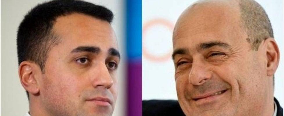 Di Maio e Zingaretti a cena insieme, le condizioni dei 5 stelle: un Conte-bis e subito il taglio dei parlamentari
