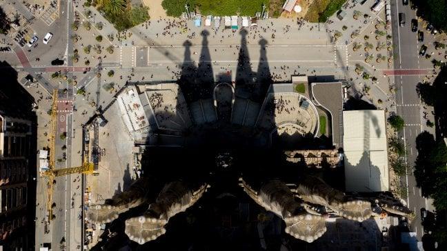 Sagrada Familia: le nuove torri fanno ombra al capolavoro di Gaudì