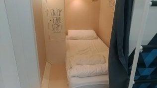 Milano come Tokyo: si dorme nelle capsule. C'entra solo il letto
