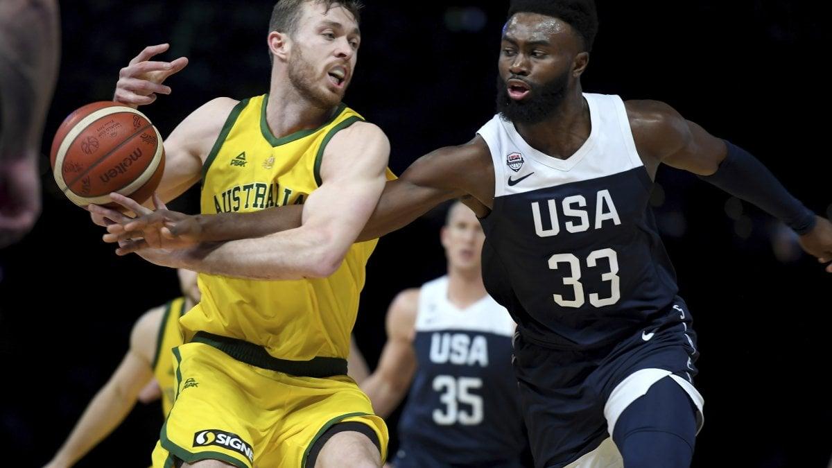 Basket: l'Australia fa la storia, per gli Usa primo ko dopo 13 anni