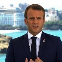 """G7 di Biarritz, Macron: """"Affrontiamo insieme le sfide globali"""". Il Wwf a Conte: """"Serve..."""