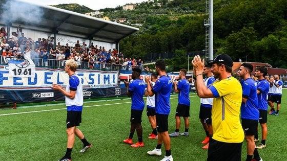 """Sampdoria, Di Francesco: """"Con la Lazio voglio una bolgia. Vialli? Lo schiererei centravanti..."""""""