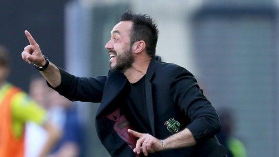 """Sassuolo, De Zerbi: """"La qualità c'è. Voglio umiltà e l'entusiasmo dell'anno scorso"""""""