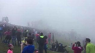 In 28mila tra le nuvole: il freddo non spaventa i fan di Jovanotti