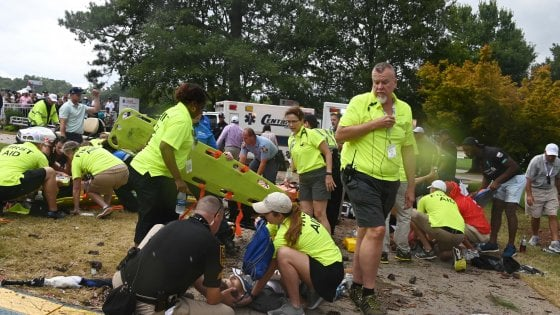Golf, FedEx Cup: fulmine colpisce un albero, sei spettatori feriti