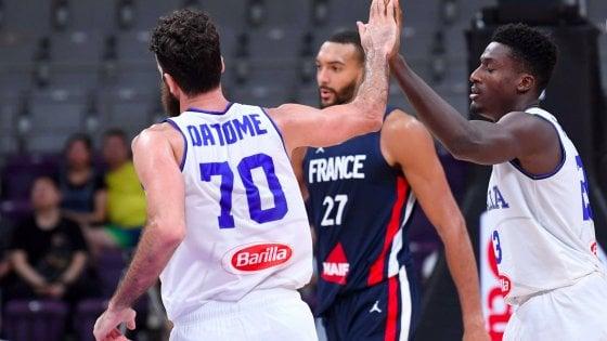 """Basket, Italia ko anche con la Francia. Sacchetti: """"Squadra in crescita"""""""