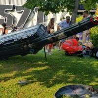 Verona, si ribalta trenino al parco divertimenti: anche due bimbi tra i feriti