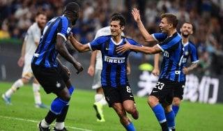 Inter-Lecce 4-0, show nerazzurro alla prima di Conte