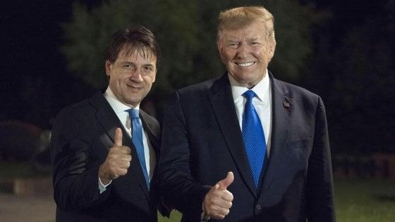 Crisi di governo, anche Trump tifa per Conte
